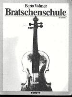 Berta Volmer : Bratschenschule Band II