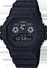 Casio G-SHOCK 5900 Nero Retro 3 occhi 200M resistente all'acqua WORLD TIME DW5900BB-1
