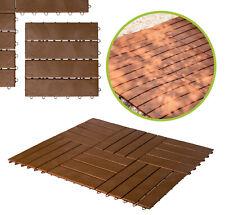 """UPP Gartenplatten Klicksystem 30x30cm """"Holz"""" Kunststoff Terassenplatten Platten"""