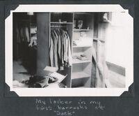 WWII May 1944 USAAF cadet pilot's photo My Locker, San Antonio TX SAACC