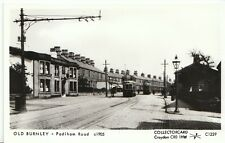 Lancashire Postcard - Old Burnley - Padiham Road c1905  - BH110