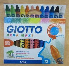 12 COLORI CERA GIOTTO MAXI  EXTRALARGE    cod.12307