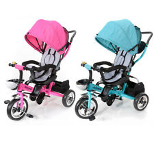B-WARE Kinderdreirad Dreirad Trike Sonnendach Lenkstange Drehbarer Sitz