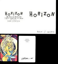 Ex-libris CRISSE Carte n° 23 signée 50ex-s 5,5x8,5
