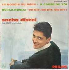 "SACHA DISTEL-Le boogie du bebe(CV=Babysitter Boogie) u.a >Single-EP 7"" ,4 Titel"
