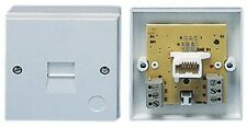 TELEPHONE SOCKET BT EXTENSION SLAVE SURFACE EASY FIT SCREW TERMINALS