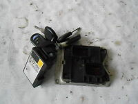Set Motorsteuergerät Lesespule und Schlüssel Opel Corsa B 1,0L 12V