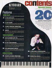1995 Keyboard Magazine: COLLECTOR'S EDITION, B3 Wannabes reviewed, Hammond XB-2