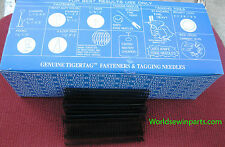 "5000 1"" INCH REGULAR BLACK PRICE TAG TAGGING BARBS FASTENERS"