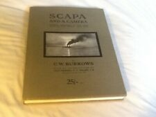 SCAPA AND A CAMERA, 2007 LIMITED EDITION, FINE HARDBACK IN WRAPPER, MILITARY.