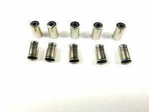 Endkappen für Bremsaußenhülle !! 10 Stück N-90 Messing Ø 5,0mm