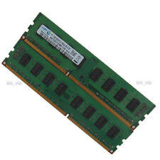 Samsung 4GB 2X2GB PC3-10600U DDR3 1333MHZ Desktop Memory 2RX8 Low density RAM