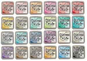 Tim Holtz Ranger Distress Oxide Ink Pads Various Colours for Cardmaking Crafts
