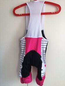 Primal Cycling Bib Shorts Prisma Biking Jersey Triathlon Women's Sz XS NEW