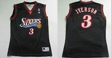 Allen Iverson #3 Philadelphia 76ers NBA Champion shirt Sixers ADULT SIZE L