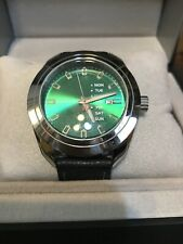 Android AD753 Men's Green Watch In Excellent Condition, New Battery