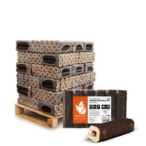 Pinikay Hartholz Briketts Eiche Kamin Ofen Holz Brikett 10kg x 30 300kg Palette