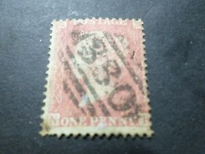 GB Large Brittany UK 1855, Stamp Classic 14 Obliterated, VF Stamp