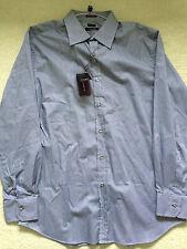 Paul Smith London LS GRIGIO MICRO Camicia a quadri taglio classico 17/43 - P2P
