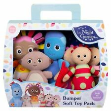 In The Night Garden Deluxe Bumper Soft Plush Toy Pack Set of 6 Dolls From Birth