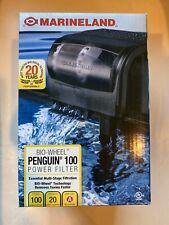 MarineLand Penguin 100 GPH BIO-Wheel Power Filter Up To 20G Free 2 Days Shipping