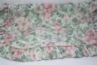 Vintage Pillow Shams Shabby Cottage Chic Standard Floral Morning Glory B13