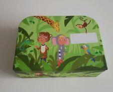 2 Stück Kinderkoffer Reisekoffer Koffer Baby Spielkoffer Köfferchen Neu grün