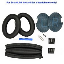 Replacement ear pads and headband pad for Bose SOUNDLINK AROUND-EAR 2 headphones