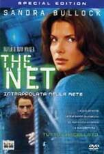 DvD THE NET - Intrappolata nella Rete - (1995) ** Sandra Bullock ** ......NUOVO