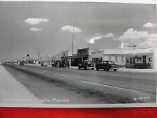 """Vintage Post Cards, """"Street Scene - Pyote Texas, late 40's - early 50's"""