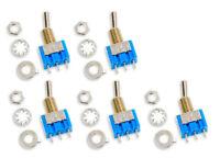 5Stück Mini 6A 75VDC MTS-102 3Pin 2Pos On-On Kippschalter Switch für Arduino DIY