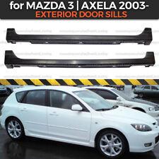 Side skirts Mazda 3 BK Axela 2003-2007 Body Kit Exterior Door Sills