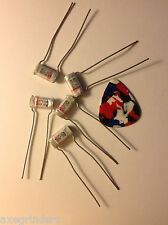 5 New Old Stock  0.027uf 100v ITW Wound Polyester Film Foil Capacitors +/- 10%