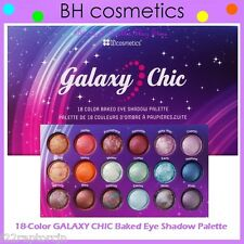 NEW BH Cosmetics 18-Color GALAXY CHIC Baked Eye Shadow Palette FREE SHIPPING NIB