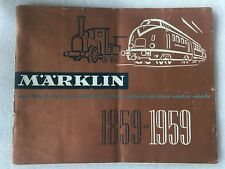 Catalogue MARKLIN 1859- 1959.