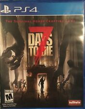 7 Days to Die PS4 (Sony PlayStation 4, 2016) Adult Owned Mint Condition