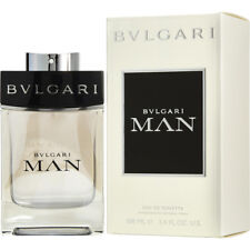 BVLGARI MAN 100ml EAU DE TOILETTE SPRAY FOR MEN BY BVLGARI ----- NEW EDT PERFUME