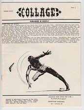 Collage #8, WALLY WOOD, AL WILLIAMSON, FRAZETTA, TARZAN, 1971, FINE Fanzine