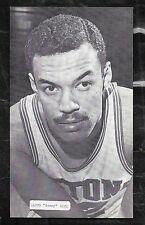 1960's  J.D. McCARTHY BASKETBALL POSTCARD LLOYD SONNY DOVE -  PISTONS