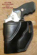"""Gary C's Leather Avenger Revolver Left Hand HOLSTER Smith & Wesson  N Frame 3"""""""