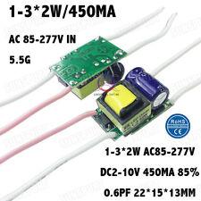 10PCS AC85-277V 5W LED Driver 1-3x2W 430mA DC2-11V Constant Current For1-3PCS 2W