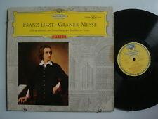 MESSE Liszt: Missa Solemnis zur..  RED STEREO LP IMP Germany DGG 138646 Tulip