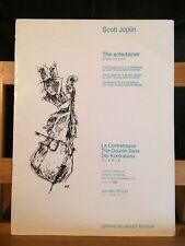 Scott joplin the Entertainer 4 contrebasses partition éditions Billaudot Rollez
