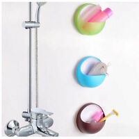 Suction Cup Bathroom Accessory Shower Soap Toothbrush Toothpaste Box DIsh Holder