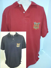 Lot of 2 RALPH LAUREN Polo Rugby Custom Fit Mens Short Sleeve Shirts Red Blue XL