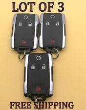 X3 LOT NEW GM GMC SIERRA 1500 2500 3500 KEYLESS REMOTE FOB TRANSMITTER 13580082