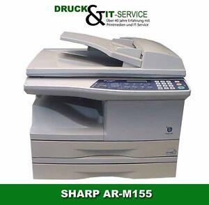 SHARP AR-M155 Multifunktion ADF Netzwerk USB 2.Fach gebraucht 35.350 gedr.Seiten
