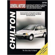 Metro Paper 1996 Car Service & Repair Manuals