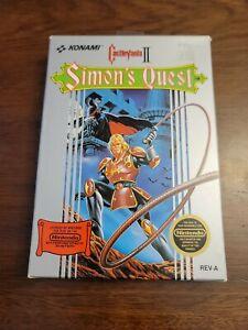 Castlevania II: Simon's Quest w/ Hang-tab (Nintendo NES) Complete - Tested
