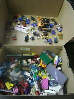 Lego 30+ minifigures lot mixed mini figures and Legos Lego parts pieces